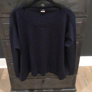 J crew navy sweater